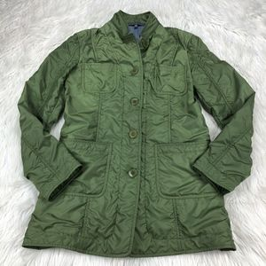Bernadette Conte Green Tumble Tech City Jacket